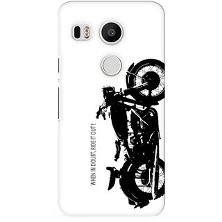 G.store Printed Back Covers for LG Google Nexus 5X White 26910