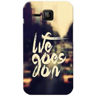 G.store Printed Back Covers for Micromax Bolt S301 Yellow 27591