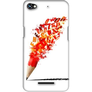 G.store Printed Back Covers for Micromax Canvas Hue 2 A316 Red 27797
