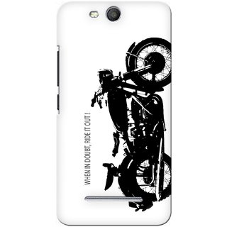 G.store Printed Back Covers for Micromax Canvas Juice 3 Q392 White 27810