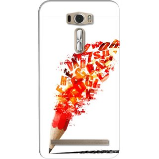 G.store Printed Back Covers for Asus ZenFone 2 Laser (ZE601KL) Red 26497