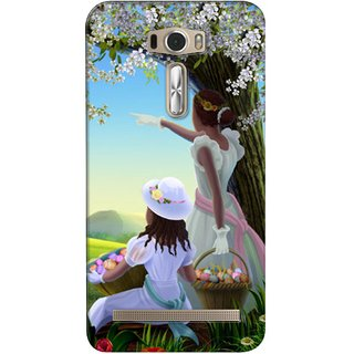 G.store Printed Back Covers for Asus ZenFone 2 Laser (ZE601KL) Multi 26498