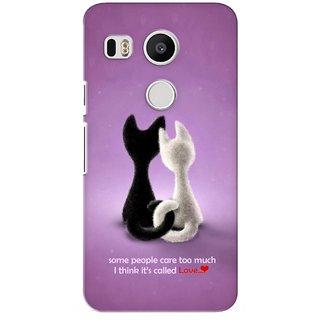 G.store Printed Back Covers for LG Google Nexus 5X Purple 26943