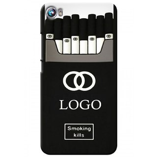 G.store Printed Back Covers for Micromax Canvas Fire 4 A107 Black 27618