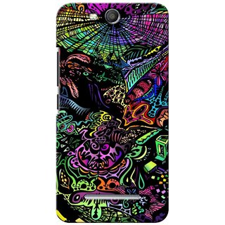 G.store Printed Back Covers for Micromax Canvas Juice 3 Q392 Multi 27839