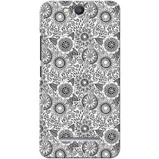 G.store Printed Back Covers for Micromax Canvas Juice 3 Q392 White 27840
