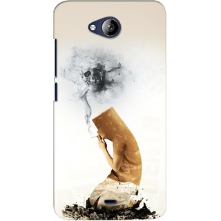 G.store Printed Back Covers for Micromax Canvas Play Q355 White 28059