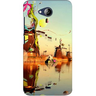 G.store Printed Back Covers for Micromax Canvas Play Q355 Multi 28062
