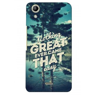 G.store Printed Back Covers for Micromax Canvas Selfie Lens Q345  Green 28286