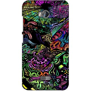 G.store Printed Back Covers for Micromax Bolt Q336 Multi 28139