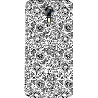 G.store Printed Back Covers for Micromax Canvas Xpress 2 E313 White 28340