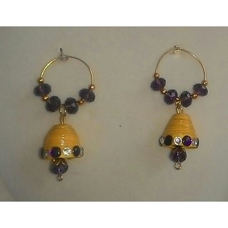 Ethnic Paper Quilling Earrings