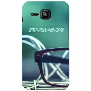 G.store Printed Back Covers for Micromax Bolt S301 Green 27508