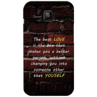 G.store Printed Back Covers for Micromax Bolt S301 Brown 27521