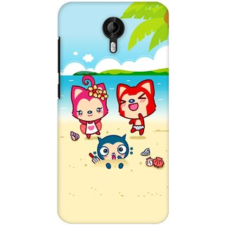 G.store Printed Back Covers for Micromax Canvas Nitro 3 E455  Multi 27945