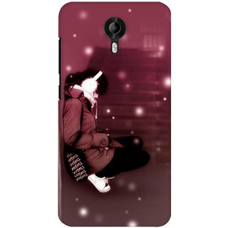 G.store Printed Back Covers for Micromax Canvas Nitro 3 E455  Brown 27951