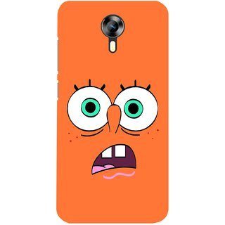 G.store Printed Back Covers for Micromax Canvas Xpress 2 E313 Orange 28385