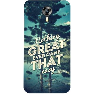 G.store Printed Back Covers for Micromax Canvas Xpress 2 E313 Green 28386