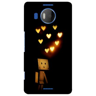G.store Printed Back Covers for Microsoft Lumia 950 XL Black 28620