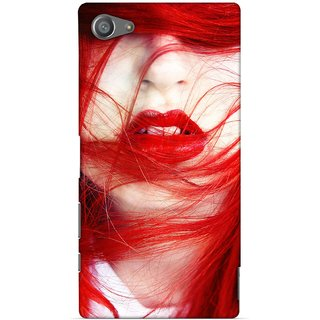 G.store Printed Back Covers for Sony Xperia Z5 Compact Red 29279