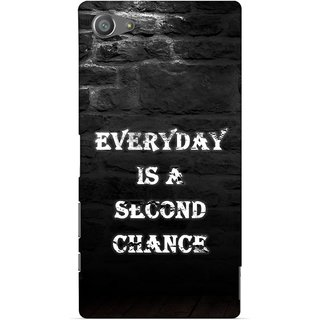 G.store Printed Back Covers for Sony Xperia Z5 Compact Black 29287