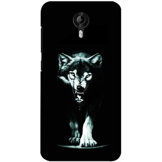 G.store Printed Back Covers for Micromax Canvas Nitro 3 E455  Black 27972