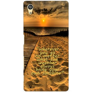 G.store Printed Back Covers for Sony Xperia Z5 Brown 29126