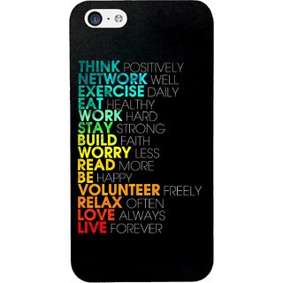 G.store Printed Back Covers for Apple iPhone 5 Multi 29642