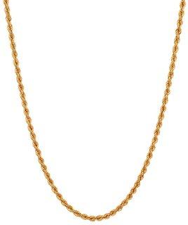 Paramhansh Ji Jewellers 22k Yellow Gold Chain
