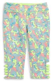 Zella Girl Agility Print Capri Leggings Little Girls