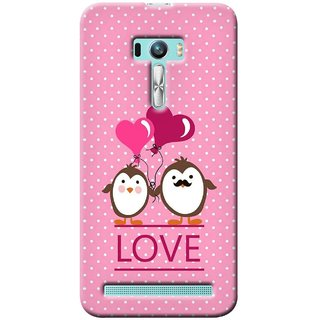 G.store Printed Back Covers for Asus Zenfone Selfie Pink 31014