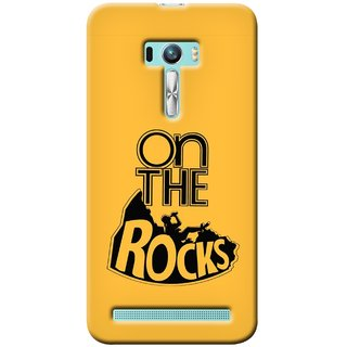 G.store Printed Back Covers for Asus Zenfone Selfie Yellow 31020