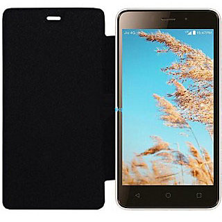 LYF Wind 6 Black Flip Cover