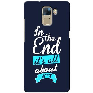 G.store Printed Back Covers for Huawei Honor 7 Blue 33004