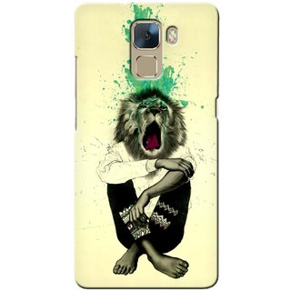 G.store Printed Back Covers for Huawei Honor 7 Multi 33056