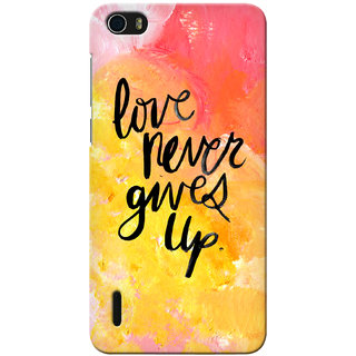 G.store Printed Back Covers for Huawei Honor 6 Multi 32928