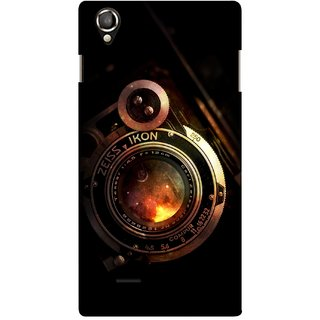 G.store Printed Back Covers for Lava Iris 800 Black 34012