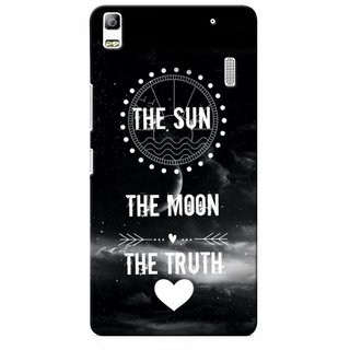 G.store Printed Back Covers for Lenovo A7000 Black 34477