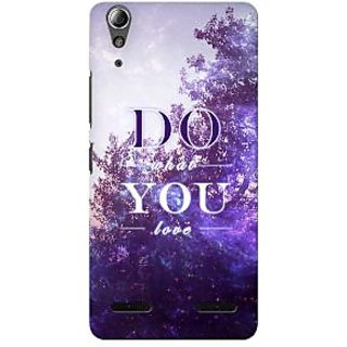 G.store Printed Back Covers for Lenovo A6000 Plus Multi 34324
