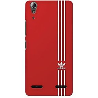 G.store Printed Back Covers for Lenovo A6000 Plus Red 34332