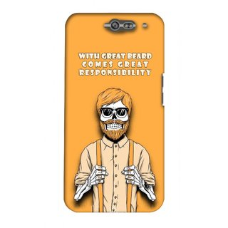 G.store Printed Back Covers for InFocus M812 Yellow 33950