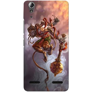 G.store Printed Back Covers for Lenovo A6000 Plus Multi 34392