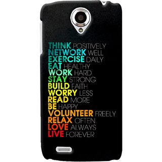 G.store Printed Back Covers for Lenovo S820 Multi 34642