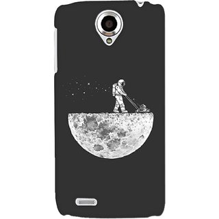 G.store Printed Back Covers for Lenovo S820 Grey 34676