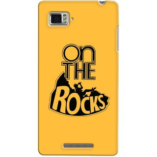 G.store Printed Back Covers for Lenovo Vibe Z K910 Yellow 35020