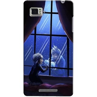 G.store Printed Back Covers for Lenovo Vibe Z K910 Black 35072