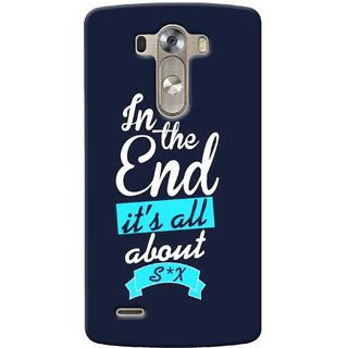G.store Printed Back Covers for LG G3 Blue 35304