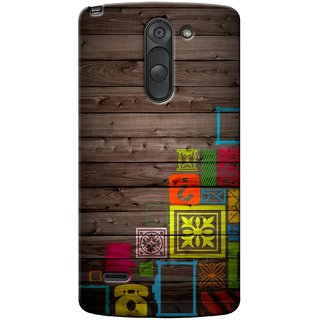 G.store Printed Back Covers for LG G3 Stylus Multi 35598