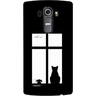 G.store Printed Back Covers for LG G4 Black 35610