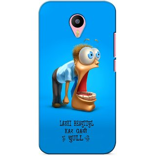 G.store Printed Back Covers for Meizu M2 Note Blue 36511